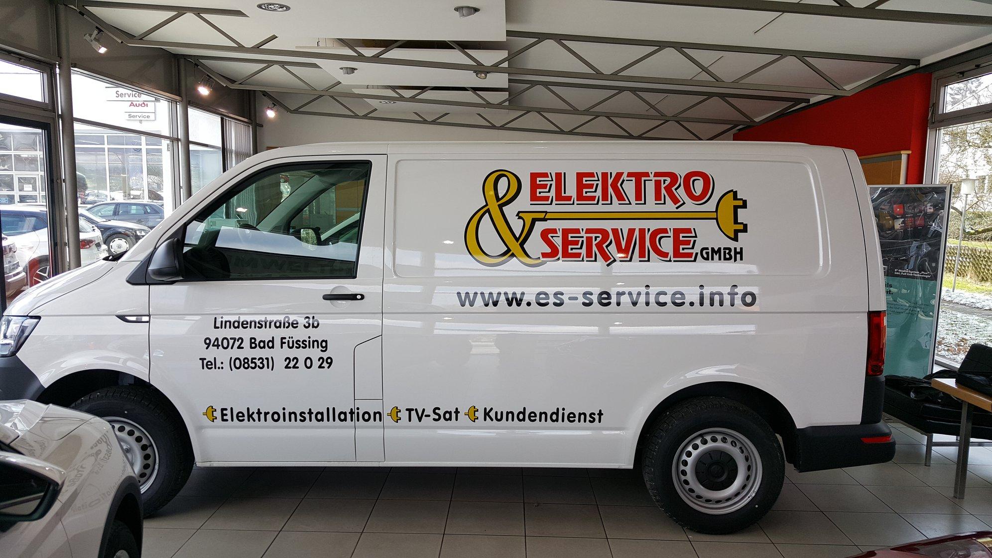 Autobeschriftung Elektro