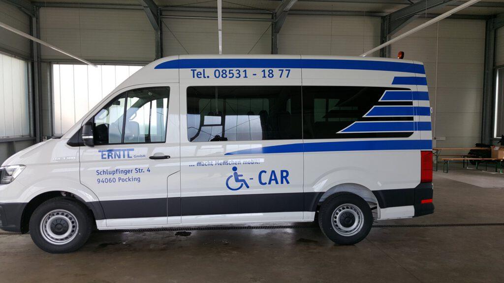 Transporter Beschriftung Erntl